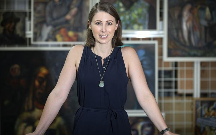 Rotorua Museum director Lizzie Marvelly. 19 January 2021 The Daily Post Photograph by Andrew Warner.