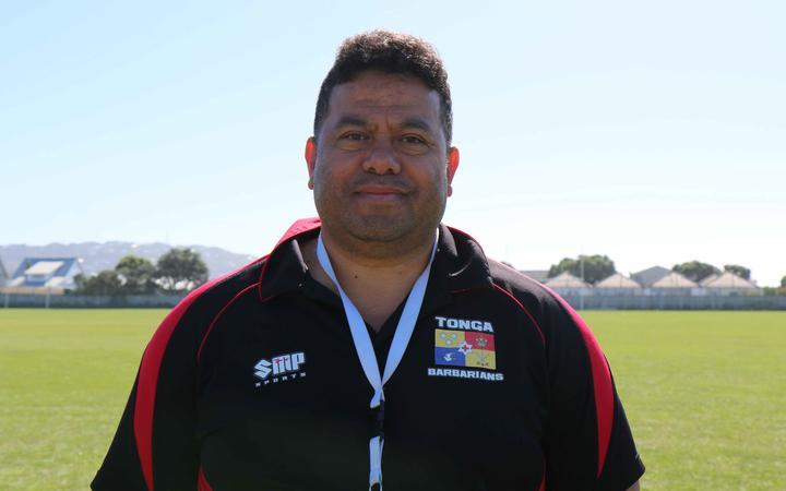 Tonga men's sevens coach Tevita Tu'ifua.