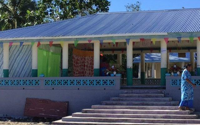 Local churches are being used as polling stations in the Samoa general election