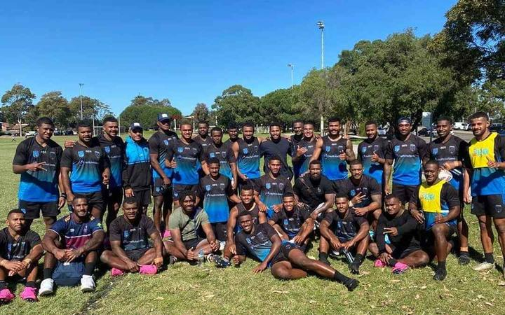 The Silktails were visited by Fijian rugby internationals Filipo Daugunu, Seru Uru, Suliasi Vunivalu and Marika Koroibete during training last week.