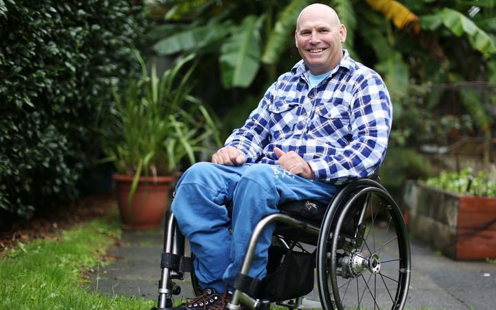 Spinal Support NZ president Brendan Tourelle.