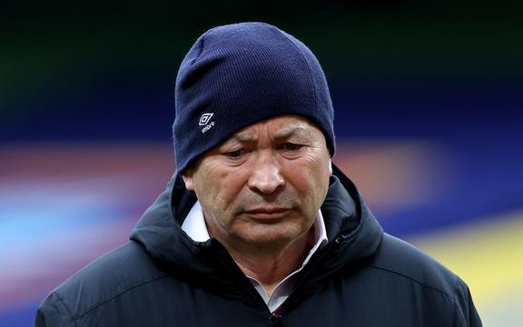 Il Ct dell'Inghilterra Eddie Jones.