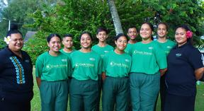 Badminton has flourished in the Cook Islands during the Covid-19 pandemic.