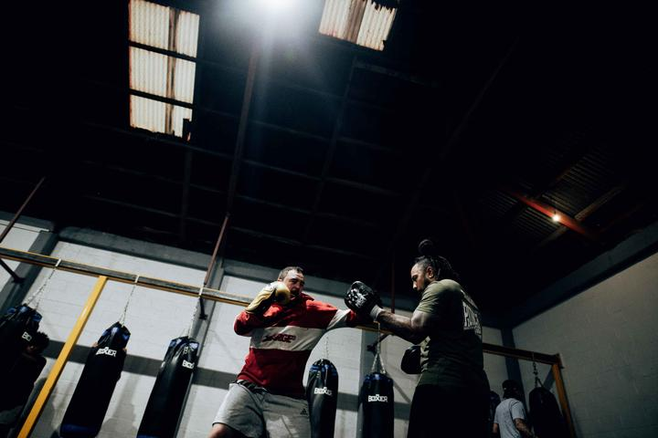 Punchfit NZ Boxing Gym runs fitness classes four nights per week.