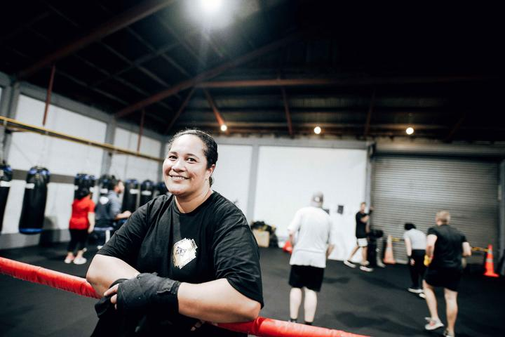 Ana Tuia-Pereira is one of the founders and directors of Punchfit NZ Boxing Gym.