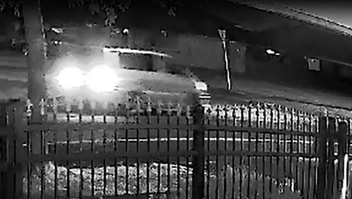Police released images of a light-coloured vehicle as part of their investigation of an incident where a man who fell from a moving vehicle in Māngere.