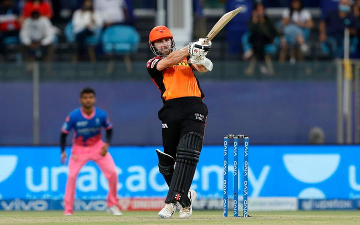 Black Caps captain Kane Williamson who players for the Sunrisers Hyderabad IPL side is one of ten New Zealand cricketers involved in the competition.