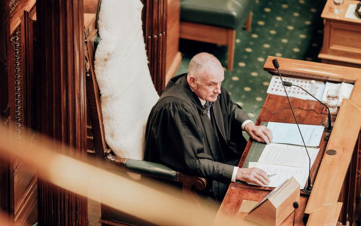 Speaker Trevor Mallard