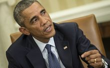 Barack Obama spoke about Ebola in his weekly address and urged for calm.