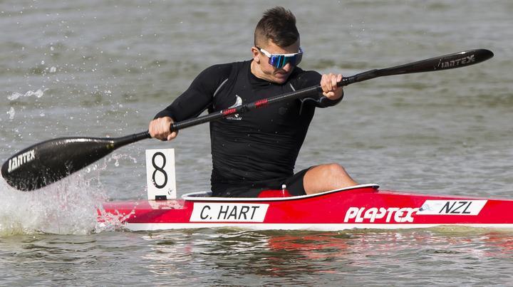 Rookie kayaker qualifies NZ Olympic spot