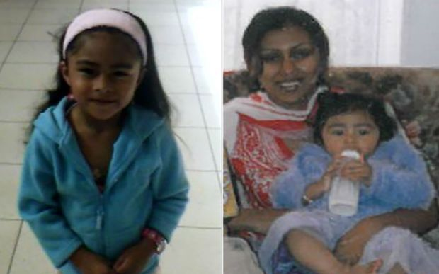 Juwairiyah Kalim - known as Jojo  (left)  and a photo of her and her mother Pakeeza Faizal, also known as Mubarak Yusuf.