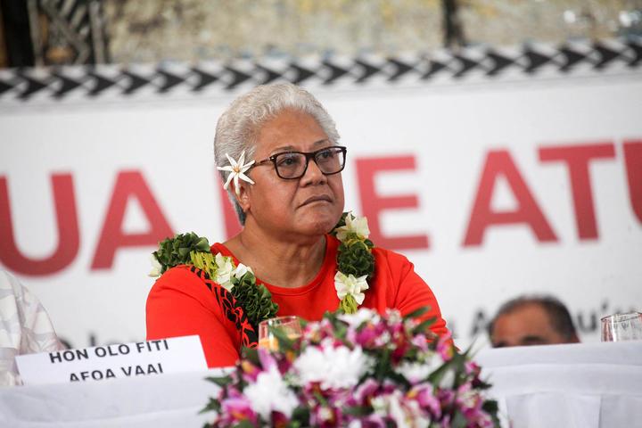 FAST party leader Fiame Naomi Mata'afa