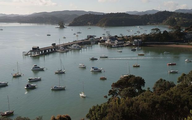 Opua  in the Bay of Islands.