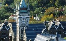 uni of otago clock tower