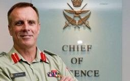 Lieutenant-General Tim Keating.