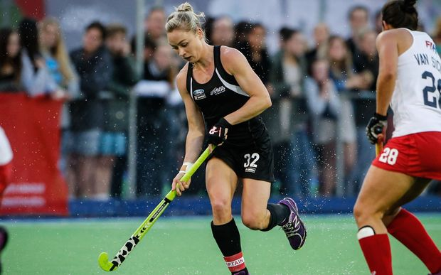 New Zealand hockey player Anita Punt.