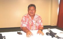 Samoa's Director General of Health and CEO of the Ministry of Health, Leausa Dr Take Naseri.