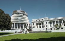 Entry points to the Beehive and Parliament Buildings have been restricted.