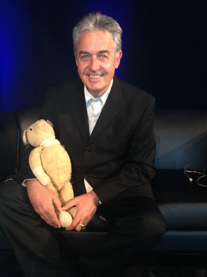 Gavin Bishop with Teddy One-Eye