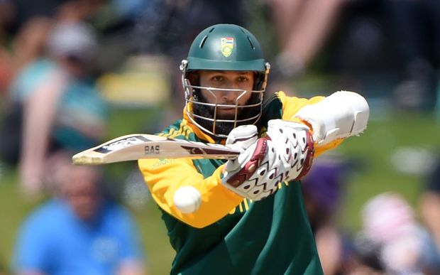 Hashim Amla on his way to his 119