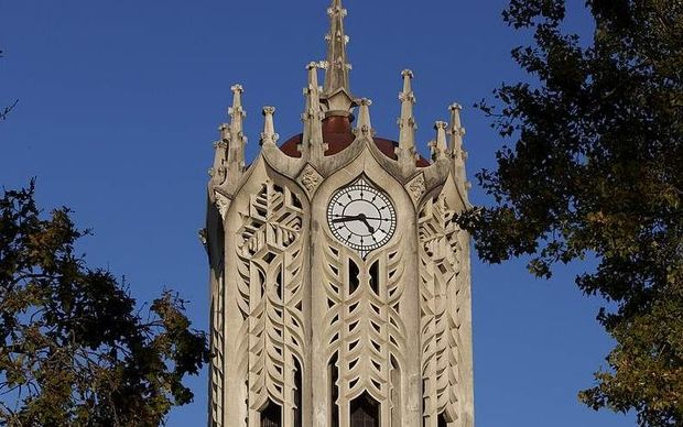 Old Arts Building clock tower, University of Auckland