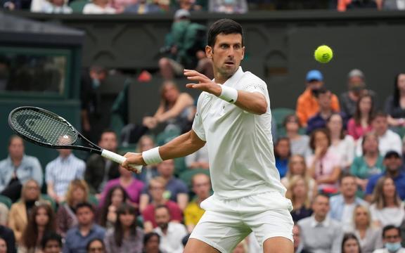 セルビアのテニス選手Novak Djokovic