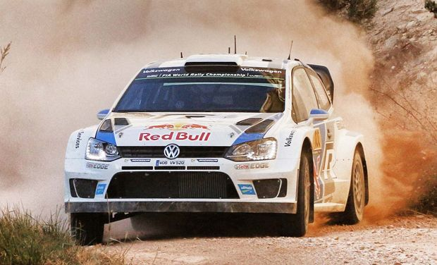 France's Sebastien Ogier during the Rally of Spain.