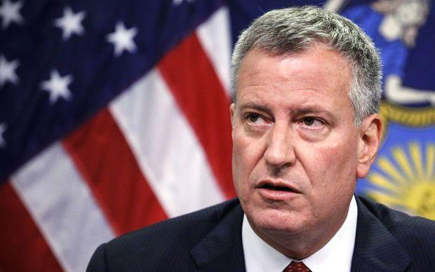 New York mayor Bill de Blasio said nurse Kaci Hickox is a