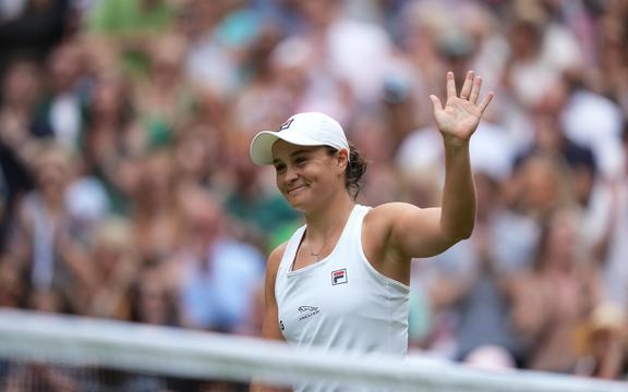 La tenista australiana Ashleigh Barty.