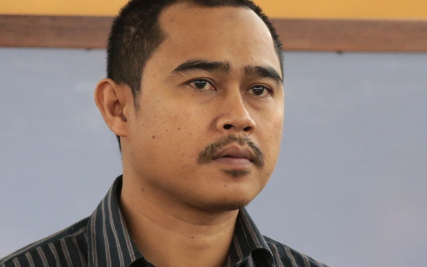 Muhammad Rizalman appearing at the Wellington District Court