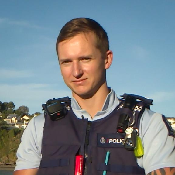 Slain police officer Matthew Hunt.