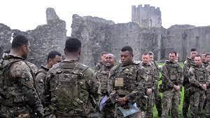 Fijian soldiers in the British Army
