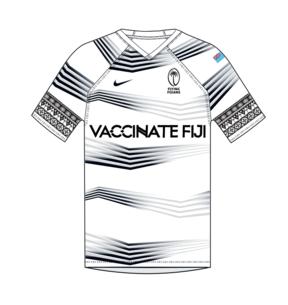 """Vaccinate Fiji"" rugby jerseys"