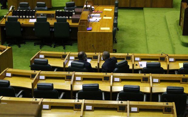 A lonely place to be: Papua New Guinea's parliamentary opposition benches 2014