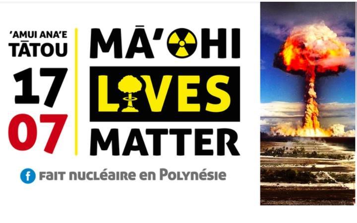 Anti-nuclear protest in Tahiti