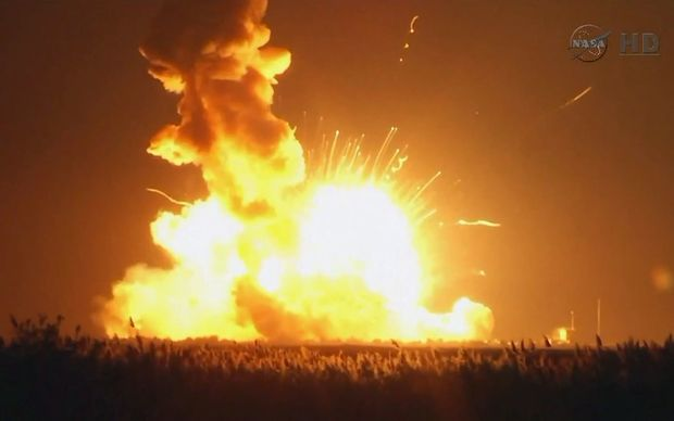 The rocket exploded seconds after launch.