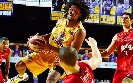 Sydney Kings player Josh Childress