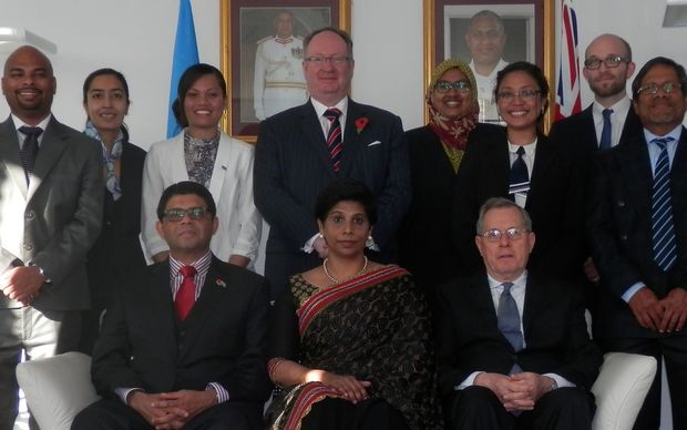 Fiji's delegation in Geneva