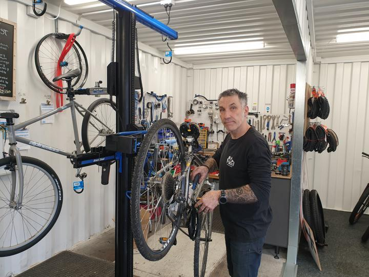 Simon Bendall who owns Get Fixed bike workshop which is on the harbour front said sewage spills can create a bad smell.