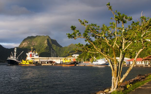 Pago Pago Harbour, American Samoa