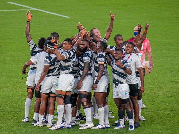 Fiji have now won back to back gold medals in rugby sevens.