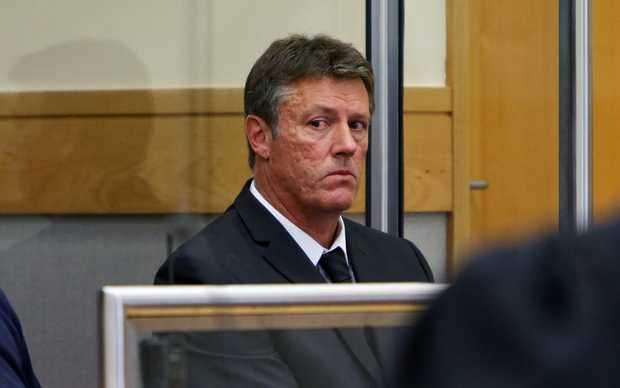 Mike Blowers in court.