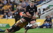 Kieran Read who will captain the All Blacks in their first match against the United States in 23 years.