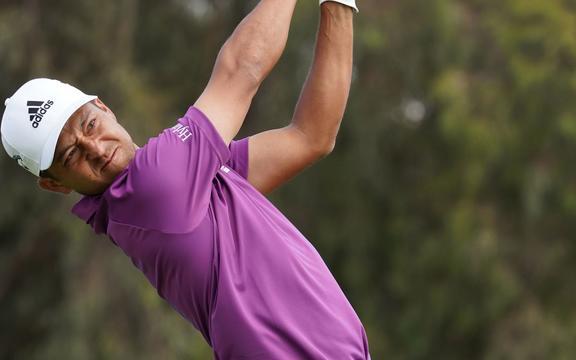 Xander Shaveli, golfista estadounidense