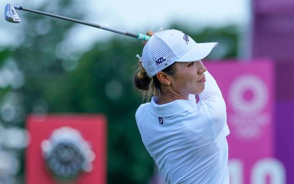 Lydia Cow, Golf femminile, Olimpiadi di Tokyo 2020. Mercoledì 04 agosto 2021. Credito obbligatorio: Â © John Cowpland / www.photosport.nz