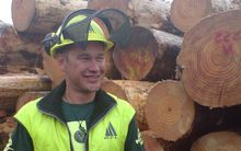 Forest Industry Contractors Association president and managing director of Kajavala Forestry, Jacob Kajavala.