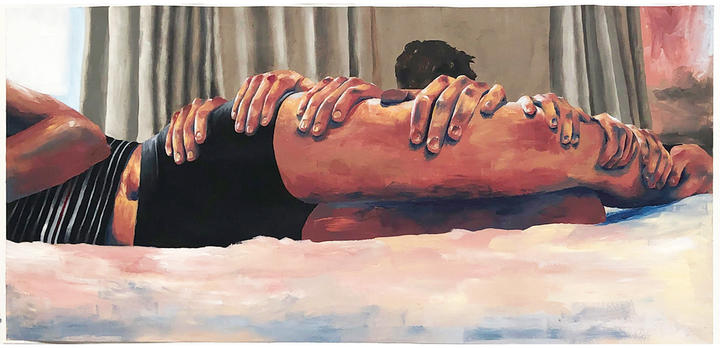 Peinture de Ruby Brown, année 13, Northcote College