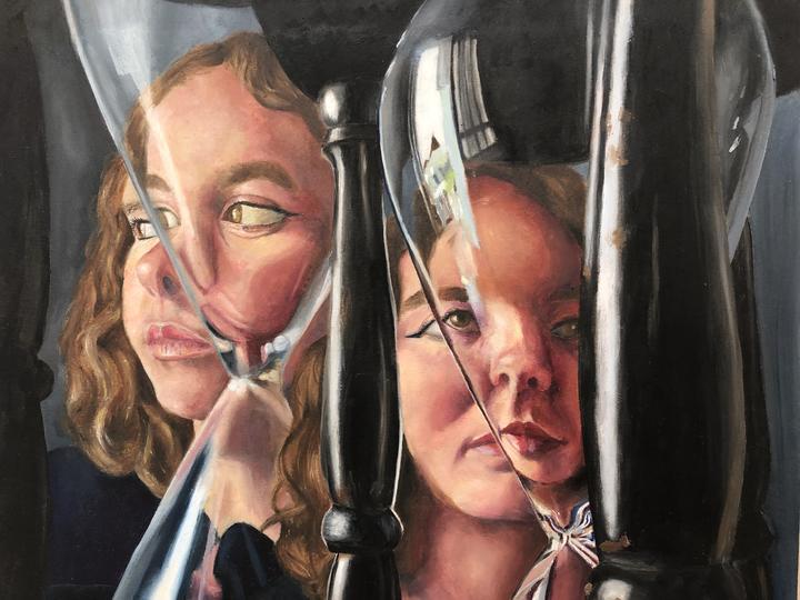 Peinture de l'année 13 - Artiste Eloise Inge, Collège Northcote