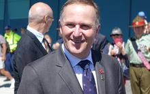 John Key spent Saturday at WW1 commemorations in Albany, Western Australia. He also spoke about Islamic State and New Zealand's security.