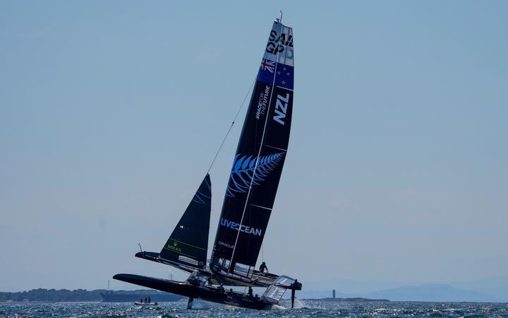 SailGP 2021 Equipo de Nueva Zelanda